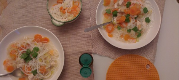 soupe aux vermicelles